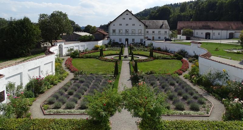 Schäftlarner Prälatengarten, Quelle: abtei-schaeftlarn.de